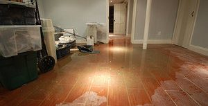 Home Flood After A Pipe Burst