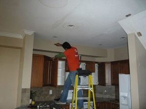Removing Mold From A Ceiling