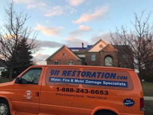 Mold Decontamination Team At A Home In Glendale