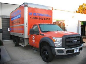 Mold Remediation Truck At 911 Restoration Headquarters
